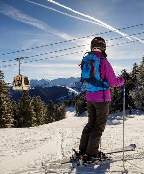 Esquiar a l'estació d'Ariège