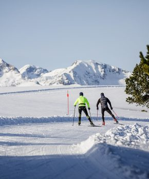 Cross-country ski resorts and Nordic areas