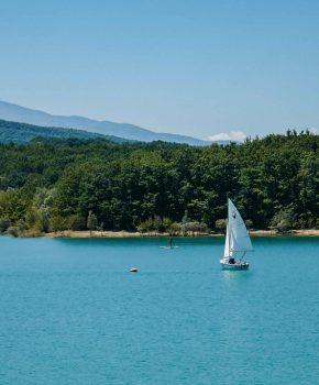 Le tour du lac de Montbel à VTT