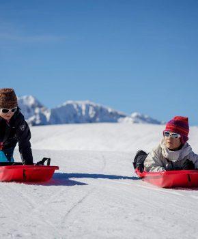 5 aventures à vivre en hiver avec des bambins !