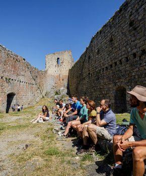Visite du château de Montségur, grand site Occitanie