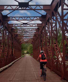 Greenway van de Katharen Pyreneeën per elektrische fiets