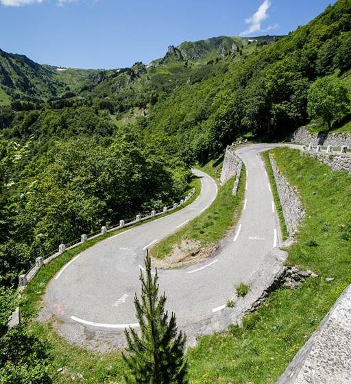 The mythical passes of the Pyrenees