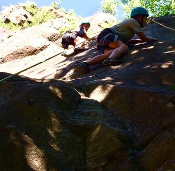 Climbing with Cave & Canyon