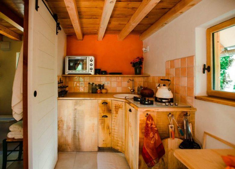 Clévacances – Meublé 009MS000125 – «La Casita Nature, Tiny House»