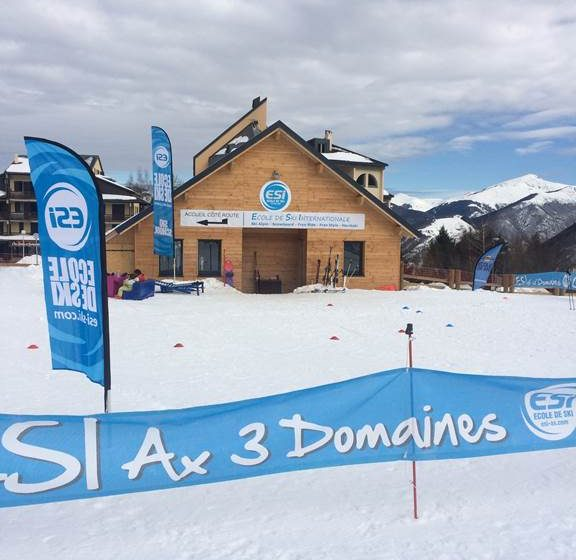 ESI – Ecole de Ski Internationale d'Ax 3 Domaines et Ascou