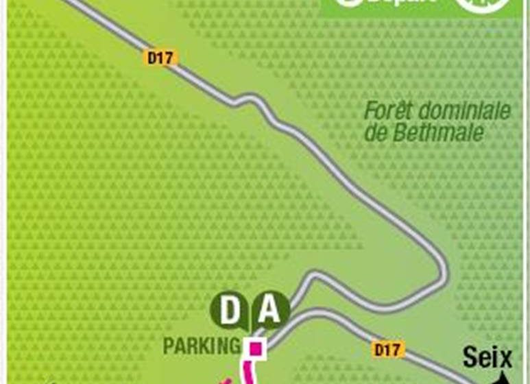 DISCOVERY CIRCUIT OF THE BETHMALE POND